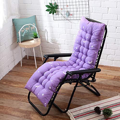 Decoración Informal, patrón para Las Estrellas Cojín de sofá de algodón con Respaldo Alto con tapete de Tatami para sillas de balcón o Asientos al Aire Libre 155 x 48 cm. E