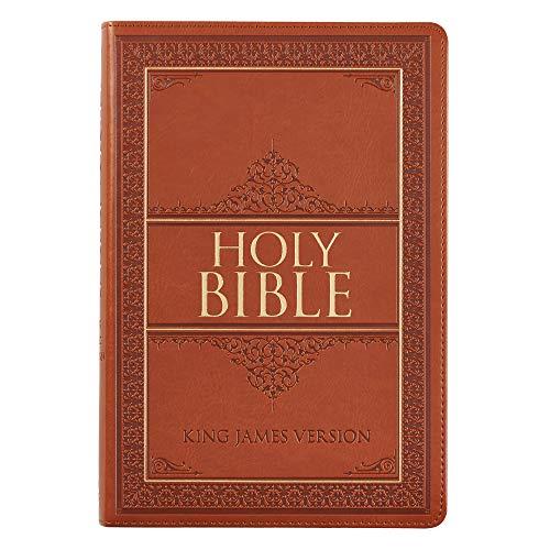 Holy Bible: KJV Large Print Thumb Index Edition: Tan