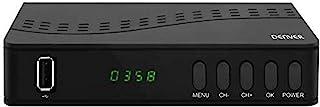 TDT Denver DTB-140 Receiver DVB-T2 Digital Decoder High Definition Afstandsbediening Aansluitingen: HMDI, USB, SCART, coax...