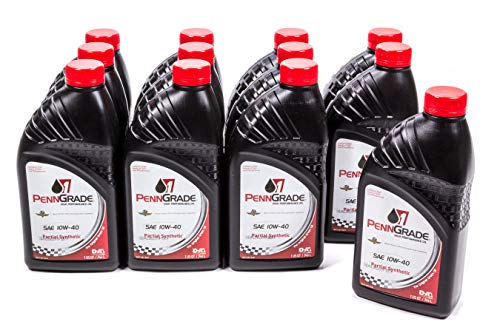 Brad Penn009-7144-12PK 10W-40 Racing Oil - 1 Quart, (Case of 12)