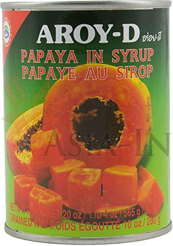 AROY-D Papaya in Sirup, 565 g