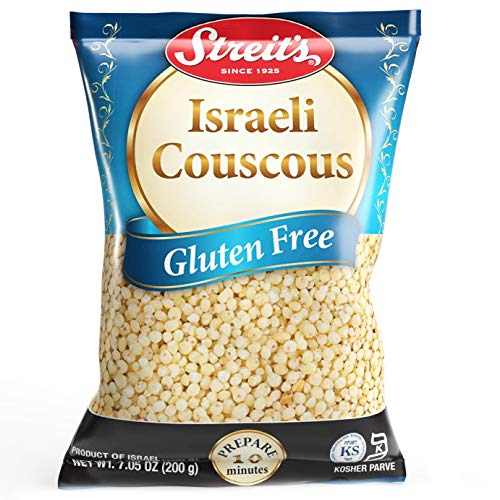 Streits Gluten-Free Israeli Couscous, Kosher for Passover, Made in Israel, 7.05 Oz Bag (Single)