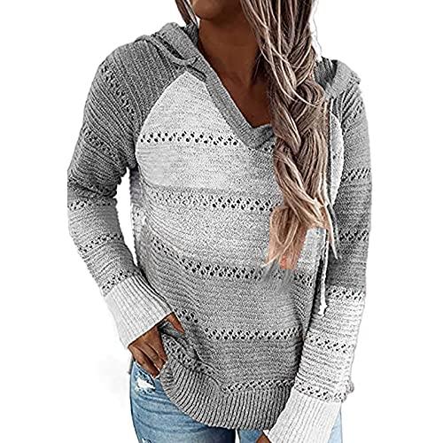 joyvio Damski sweter z dzianiny sweter z dekoltem w szpic Off ramię ponadgabarytowa koszula z długim rękawem seksowna szafka sweter na co dzień sweter z dzianiny zimowe topy