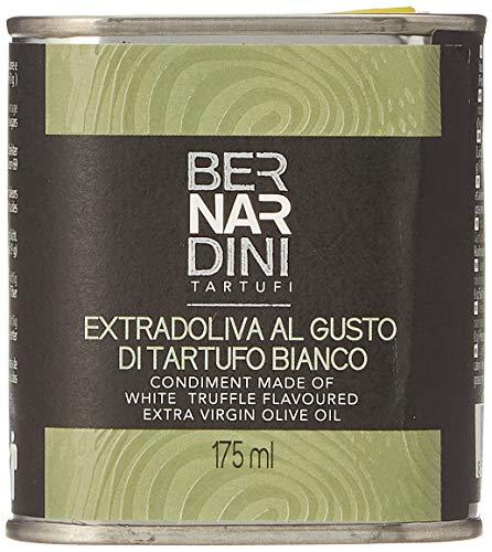 Bernardini Tartufi Lata Aceite de Oliva Virgen Extra Condimentado con Trufa Blanca - 175 ml