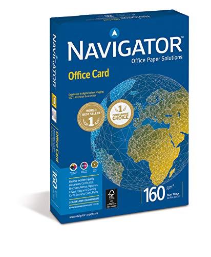 Navigator Office Card /PCO160F1 DIN A4 hochweiß Karton 160 g/qm Inh.250