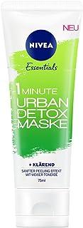 Nivea 1 Minute Urban Detox Reinigende Gesichtsmaske, 3er Pack 3 x 75 ml