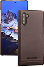 Pierre Cardin Samsung Galaxy Note 10 Case, Premium Genuine Cowhide Leather with New Slim Design Fashion Hard Back Cover for Samsung Galaxy Note 10(6.3