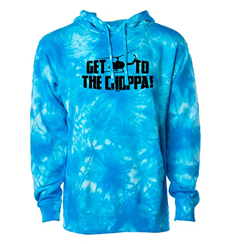 Get to The Choppa! Tie Dye Hoodie for Adult, Many Colors