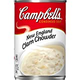 Campbell's Condensed New England Clam Chowder, 10.5 Ounce (Pack of 12)