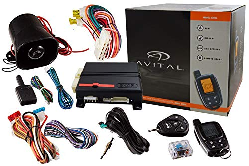 Avital 5305L 2-Way Security System Responder Keyless Entry Remote Start w/ D2D