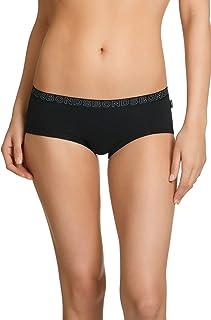 Bonds 2 Pack Hipster Boyleg Briefs Womens Underwear - Black W1093s
