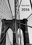 dicker TageBuch Kalender 2016 - NEW YORK BROOKLYN BRIDGE: Endlich genug Platz für dein Leben! 1 Tag pro DIN A4 Seite