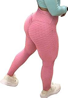 02dc22ce537d8 Amazon.co.uk: Pink - Leggings / Women: Clothing