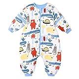 Saco de Dormir para bebé con piernas, para Invierno, Manga Larga, con pies y Zapatos para bebé, 3,5 TOG, tamaño de 92 cm a 102 cm, Color Rojo