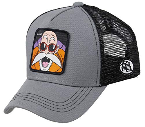 Collabs Gorra Dragon Ball Z Kame Trucker Gris OSFA (Talla única para...
