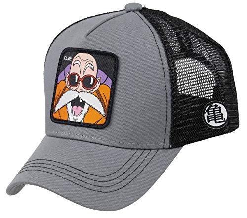 Collabs Gorra Dragon Ball Z Kame Trucker Gris OSFA (Talla única para...