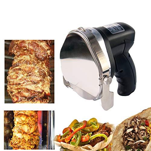 Trustme Kebabab-mes, elektrisch, 220 V, doner, kebab-mes, 3000 omw/min, voor kebab-machine