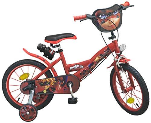 Toimsa–1691–Bicicletta per Ragazza–Ladybug–16di 5a 8Anni