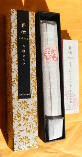 Nippon Kodo KOHDEN SANDALWOOD - japanische Räucherstäbchen Japan - 1 Packung Duft Stäbchen (incense sticks) zum Räuchern