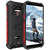 OUKITEL WP5 Outdoor Smartphone Ohne Vertrag, 4G Dual SIM Outdoor Handy, IP68 Wasserdichter, 8000mAh Akku, 4GB 32GB Android 10 Handy, Global Version 5,5 Zoll Triple Kamera Face/Fingerprint ID (Schwarz)