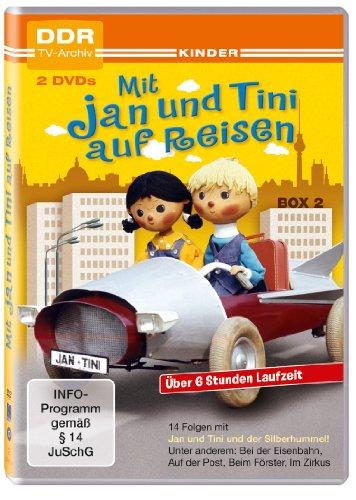 Mit Jan und Tini auf Reisen - Box 2 (DDR TV-Archiv - 2 DVDs)