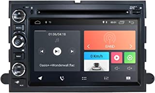 hizpo Android 9.0 Car GPS Navigation Fit for Ford F150 F250/350/Edge/Fusion/Mustang in Dash DVD Player Stereo Radio BT SWC WiFi 4G Support DVR TV DAB+TPMS