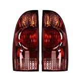 Epic Lighting OE Style Replacement Rear Brake Tail Lights Assemblies Compatible with 2005-2015 Tacoma Left Driver & Right Passenger Sides Pair