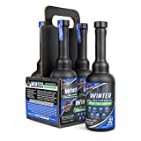 Opti-Lube Winter Anti-Gel Diesel Fuel ADDITIVE: 4 Pack of 8oz Long Neck Bottles, Each 8oz Bottle Treats Up to 32 Gallons