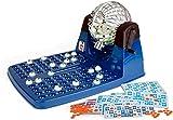 Chicos Bingo Lotería automática XXXL con 72 cartones y 90 Bolas imborrables, 30 x 42 x 23 cm, Incluye fichas de Juego, (Fábrica de Juguetes 20905)
