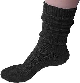 Cashmeren Extra Soft Lavishly Warm 100% Pure Cashmere Sleep Socks for Women (One Size fits 6-11)