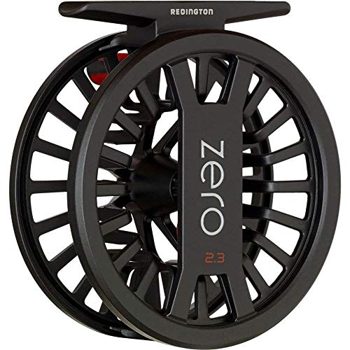 Redington Zero 4/5 Large Arbor Fly Reel Black Click and Pawl Drag Lightweight
