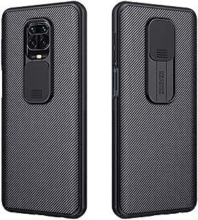 Vteepck Xiaomi Redmi Note 9S / Note 9 Pro/Note 9 Pro Max Camera Protection Case | Slide Camera Cover | Slim Stylish | Anti...