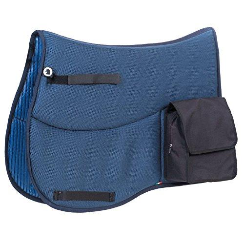 Schabracke Techno Sympatex mit Taschen Blau