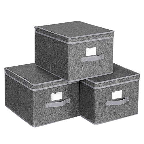 La Mejor Selección de Cubos de almacenaje con tapa - los más vendidos. 8