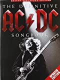The Definitive AC/DC Songbook - Updated Edition [Lingua inglese]