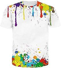 Unisex 3D Camiseta Divertidas Impresa Personalizada Verano Casual tee Shirts