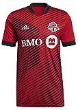 adidas 2021-22 Toronto FC Home Jersey - Red-Black M
