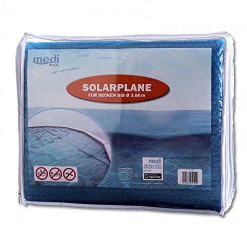 Medipool Solarplane für Schwimmbecken Ø 3,50m bis max. 3,60m