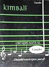 Kimball Owner's Manual Camelot (for Organ)