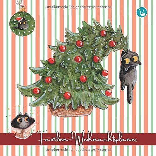 Familien-Weihnachtsplaner: Weniger Stress, mehr Besinnlichkeit - Adventsjournal für die ganze Familie mit Planungshilfen 02