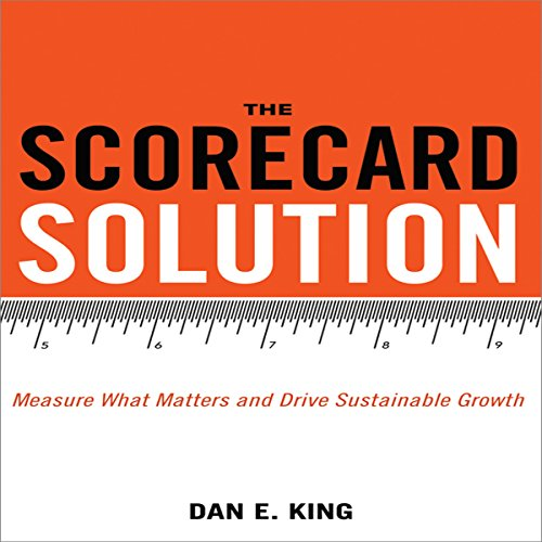 The Scorecard Solution audiobook cover art