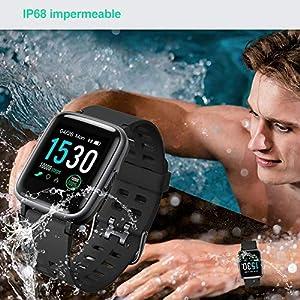 YAMAY-Smartwatch-Impermeable-Reloj-Inteligente-con-Cronmetro-Pulsera-Actividad-Inteligente-para-Deporte-Reloj-de-Fitness-con-Podmetro-Smartwatch-Mujer-Hombre-para-Xiaomi-HuaweiI-Telfono