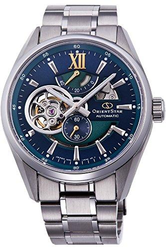 Orient Reloj Analógico para Hombre de Automático con Correa en Acero Inoxidable RE-DK0001L00B