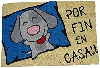 koko doormats felpudos Entrada casa Originales, Fibra de Coco y PVC, Felpudo Exterior Perro por Fin EN CASA!!, 40x60x1.5 c...