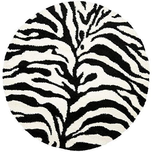 Good price Round Kaleen Carpet for Hall    Size- 8 x 8 feet for Living Room II Bedroom    Design -Animal Print