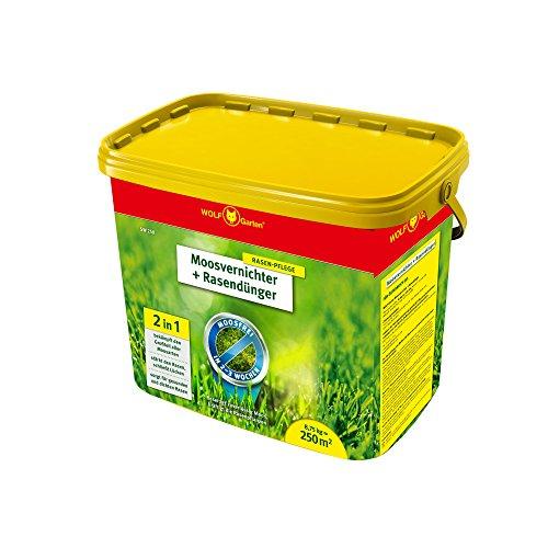 WOLF-Garten - Moosvernichter und Rasendünger - SW 250 - 8,75 kg für 250 m² - 3841030