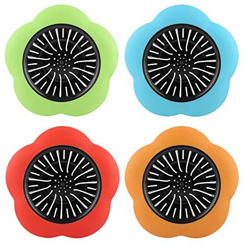 Langlebiges blumenförmiges Kunststoff-Waschbecken-Sieb Hochwertiges Kunststoff-Waschbecken-Sieb Küchenspülbecken-Sieb für zu Hause