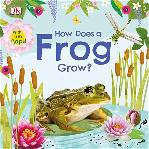 How Does a Frog Grow? (Life Cycle Board Books)
