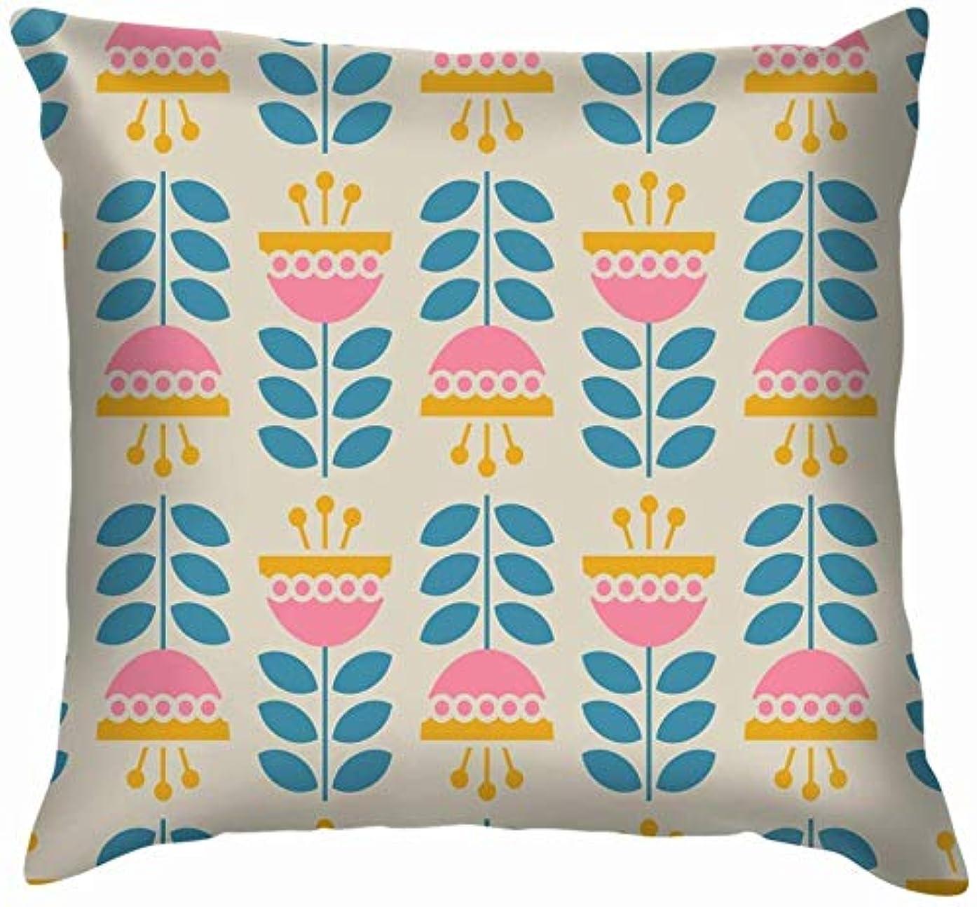 負担コイン料理レトロな花は花の性質を投げます枕カバーは家のソファーのクッションカバー枕ギフト45x45 cmをカバーします
