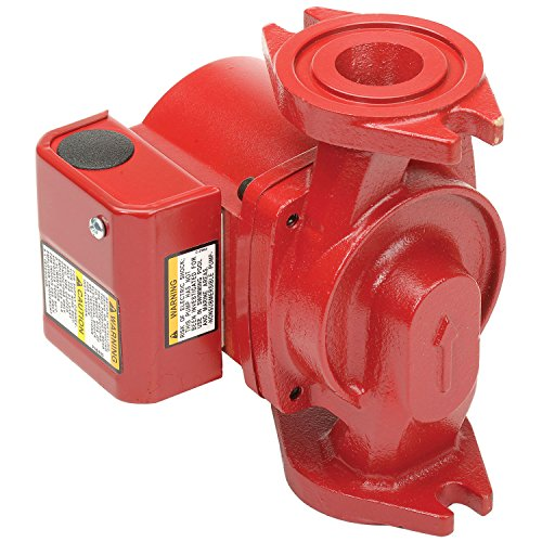 Bell & Gossett NRF-22 Wet Rotor Circulator, Single Speed, Flange Connection, 115V, 92W, Cast Iron